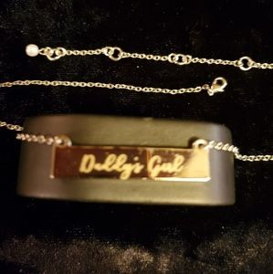 Jewelry - Sterling Silver Bar Necklace